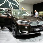 Front three quarter of the 2014 BMW X5