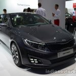 Front three quarter of the 2014 Kia Optima