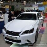 Front three quarter of the 2014 Lexus GS 300h