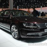 Front three quarter of the 2014 VW Phaeton Exclusive
