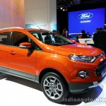 Front three quarter of the Ford EcoSport
