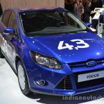 Front three quarter of the Ford Focus 1.0L EcoBoost