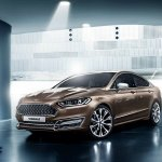 Front three quarter of the Ford Mondeo Vignale concept