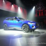 Front three quarter of the Jaguar CX-17 Concept