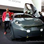 Front three quarter of the Kia Niro Concept