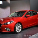 Front three quarter of the Mazda3 sedan