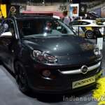 Front three quarter of the Opel Adam Black Link