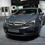 Front three quarter of the Opel Cascada 200hp