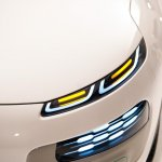 Head and fog lights of the of the Citroen Cactus Conept