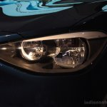 Headlamp of the BMW 116i