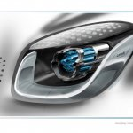 Headlamps of the Smart Fourjoy Concept