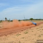 Honda Amaze handbrake turn