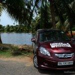 Honda Amaze red front