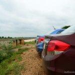 Honda Amaze taillights