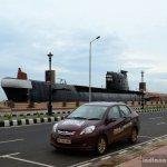 Honda Amaze with a submarine