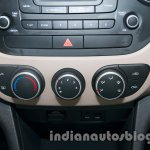 Hyundai Grand i10 AC controls
