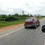 Hyundai Grand i10 Left Hand Drive rear spied