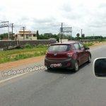 Hyundai Grand i10 Left Hand Drive rear three quarter spied