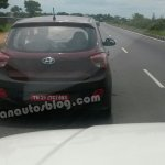 Hyundai Grand i10 Left Hand Drive spied India