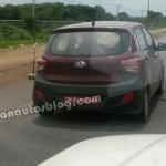 Hyundai Grand i10 Left Hand Drive spied in India