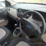 Hyundai Grand i10 demo car cockpit