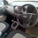 Hyundai Grand i10 demo car dashboard