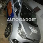 Hyundai Grand i10 spyshot front