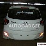 Hyundai Grand i10 spyshot rear