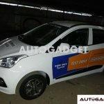 Hyundai Grand i10 spyshot