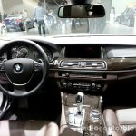Interior of the 2014 BMW 5 Series LCI