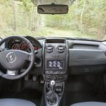 Interior of the 2014 Dacia Duster