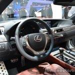 Interior of the 2014 Lexus GS 300h