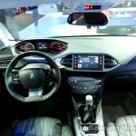 Interior of the 2014 Peugeot 308