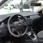 Interior of the 2014 Skoda Octavia GreenLine