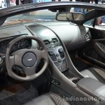 Interior of the Aston Martin Vanquish Volante Q