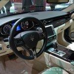 Interior of the Maserati Quattraporte diesel
