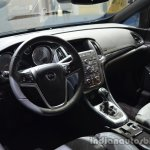 Interior of the Opel Cascada 200hp