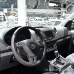 Interior of the VW Amarok Dark Label