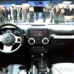 Jeep Wrangler Polar special edition dashboard