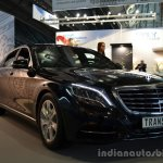 Left - Transeco 2014 Mercedes S Class Front