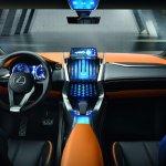 Lexus LF-NX Concept dashboard