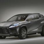 Lexus LF-NX Concept front three quarters