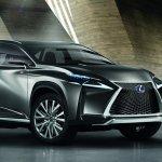 Lexus LF-NX Concept front
