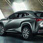 Lexus LF-NX Concept rear three quarters