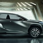 Lexus LF-NX Concept side view