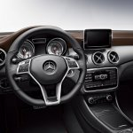 Mercedes-Benz GLA Edition 1 steering wheel