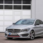 Mercedes CLA 250 Sports front