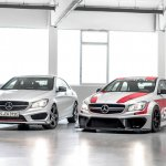 Mercedes CLA 45 AMG Racing Series and CLA 250 Sports