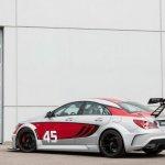Mercedes CLA 45 AMG Racing Series rear three quarter