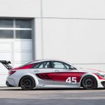 Mercedes CLA 45 AMG Racing Series side view